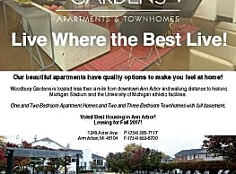 Woodbury Gardens Apartments and Townhomes - Ann Arbor