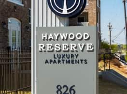 Haywood Reserve - Greenville