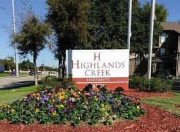 Highlands Creek - Dallas