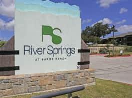 River Springs at Barge Ranch Phase II - Belton