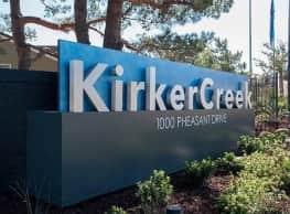 Kirker Creek - Pittsburg