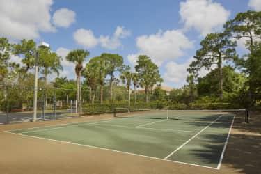 ... Apartment Homes Tennis Court ...  Ashlar Apartments Ft Myers