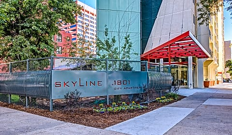 Skyline 1801 arapahoe street denver co apartments for rent for Cheap 3 bedroom apartments in denver co