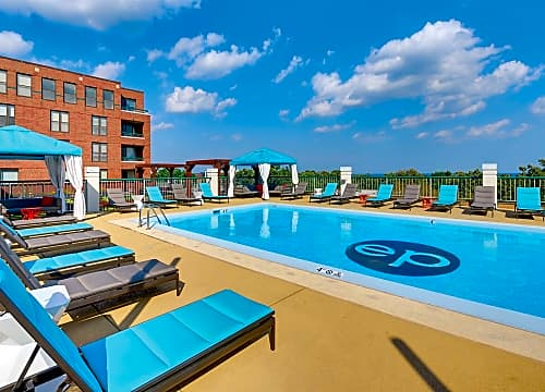 Catch some sun on the pool deck