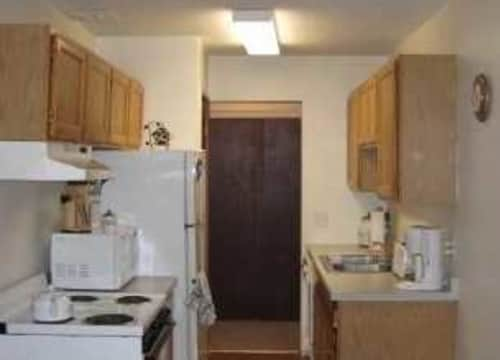 Standard electric kitchen appliances included
