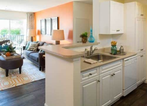 Fresh new look with stainless steel appliances