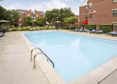aww the pool
