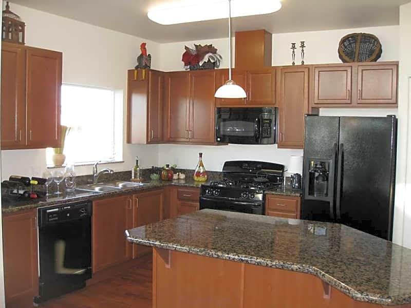 Well-appointed kitchen with granite counters