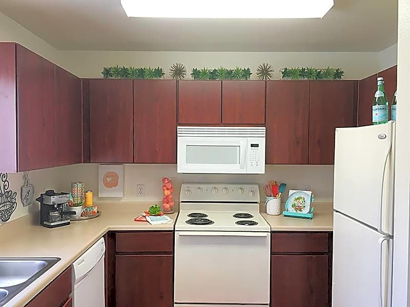 Enjoy your fully applianced kitchen, including an over the range microwave and a dishwasher!