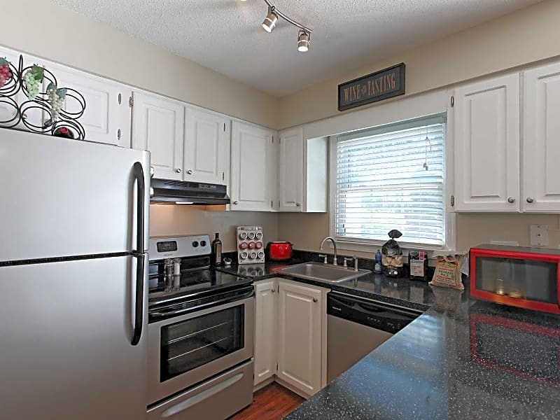 Sleek fully renovated kitchen with stainless steel appliance package