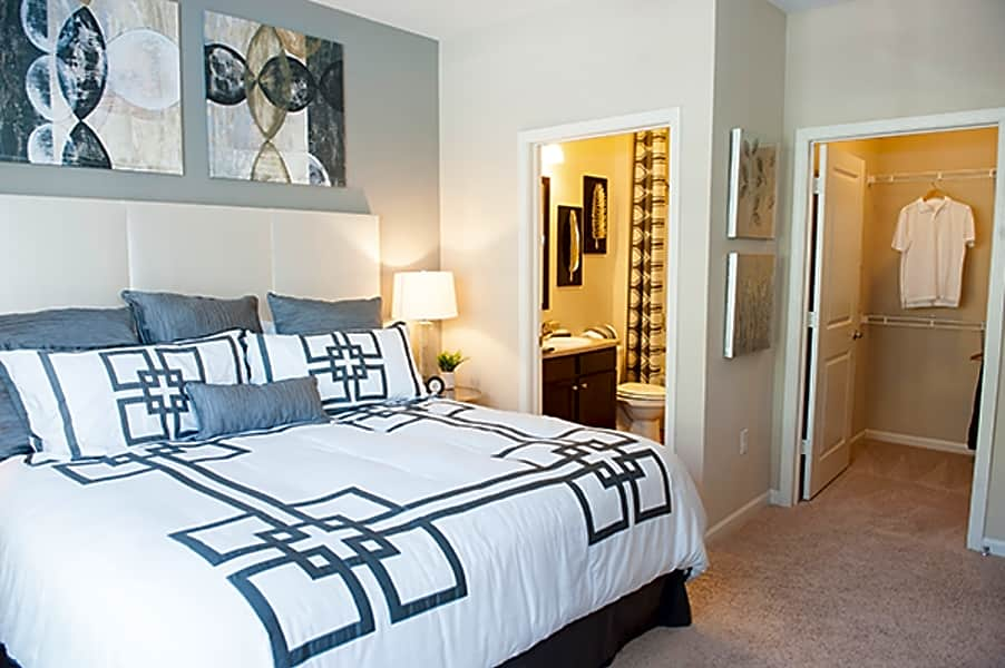 Interiors-1, 2 and 3 bedroom apartments at Sterling Town Center
