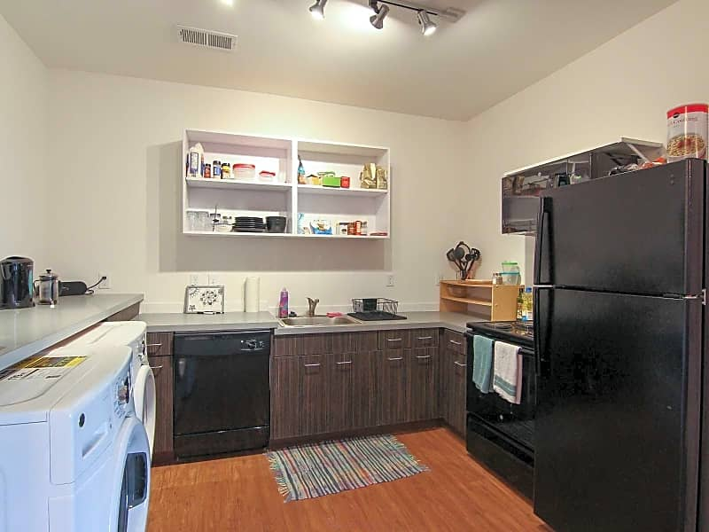 Not taking your laundry home on the weekends or saving quarters! Washer and Dryer in Every Unit!