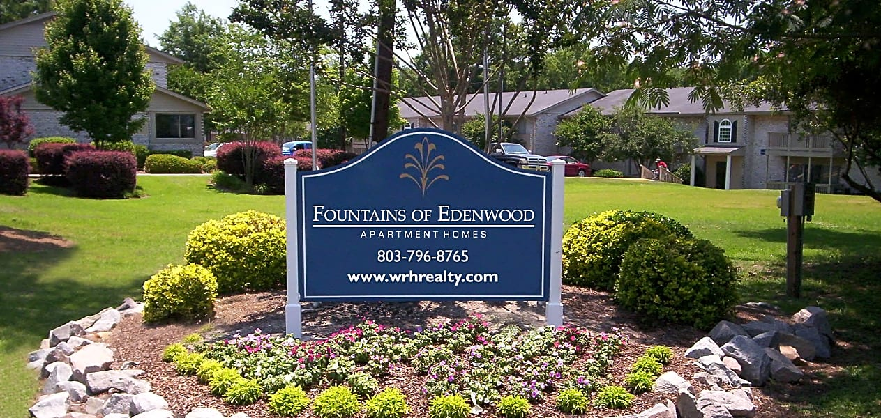 Fountains of Edenwood Sign