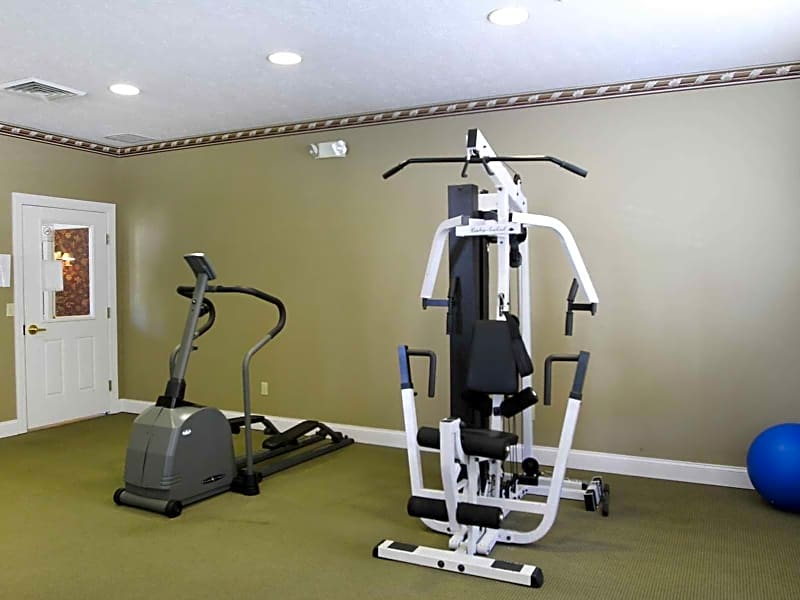 Interior-Fitness Weight Room