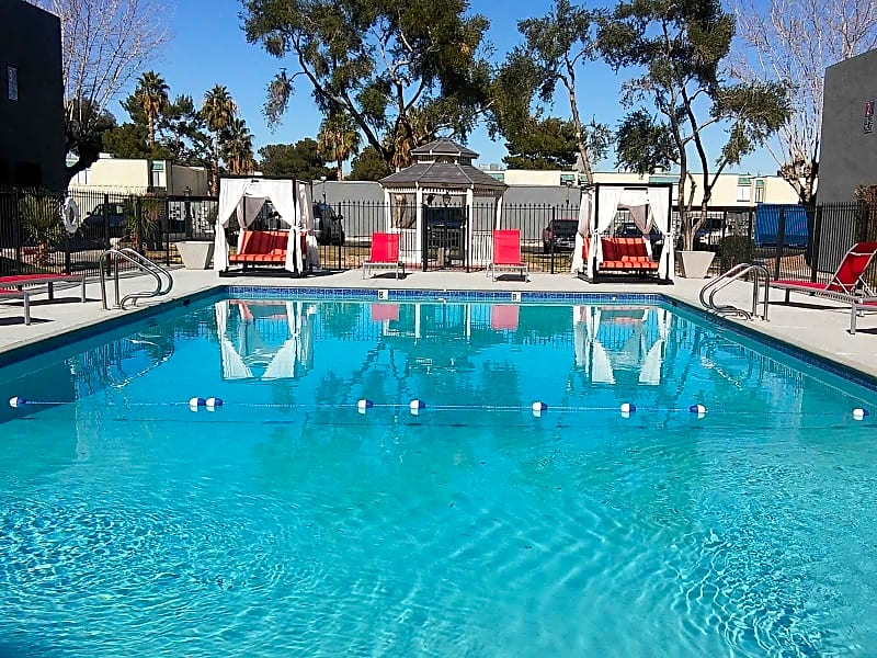 Sparkling Pool with Day Beds