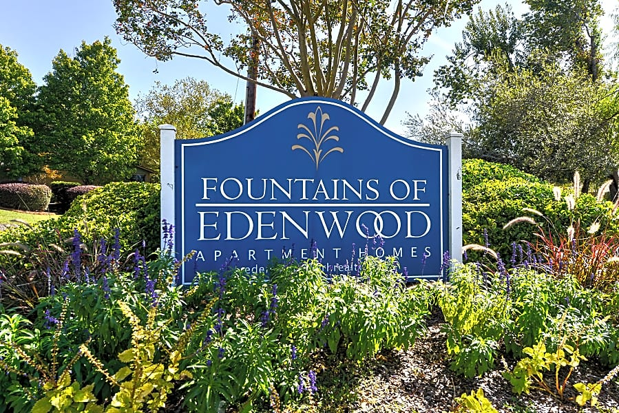 Fountains of Edenwood Exterior Sign