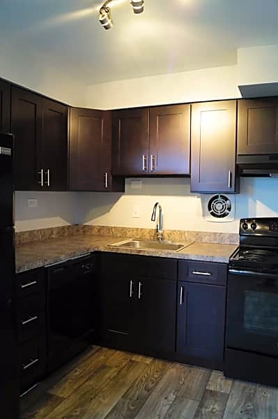 Upgraded Kitchen with Espresso Cabinets