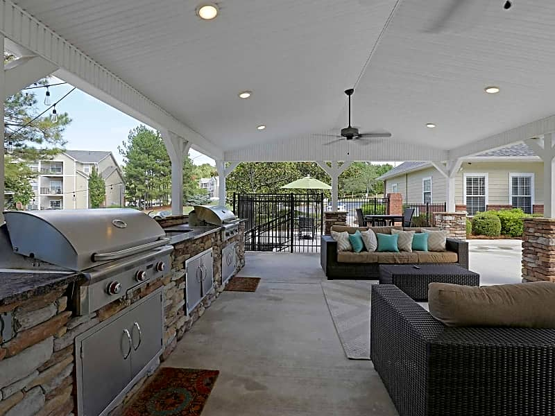 Pool Deck and Grilling Area