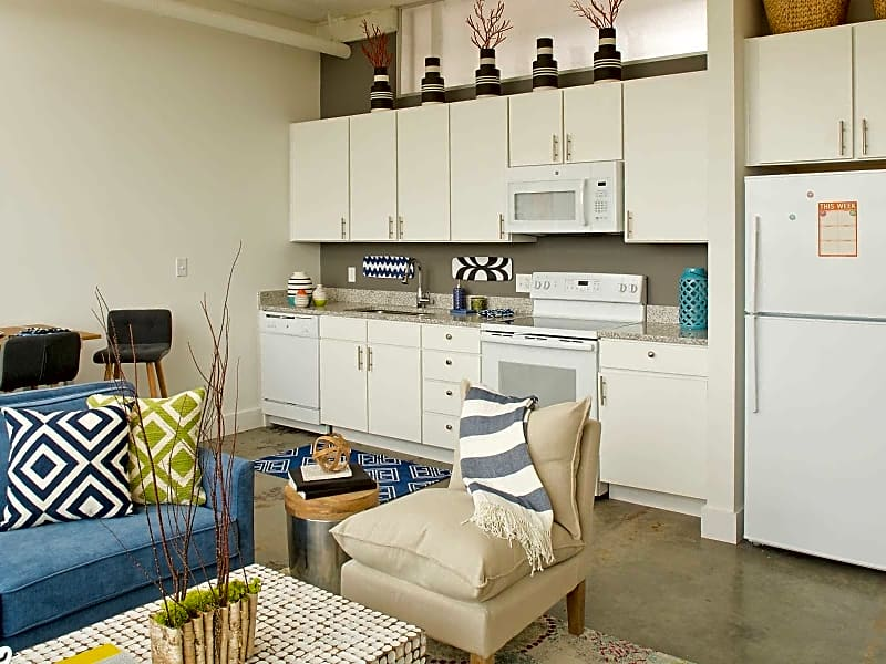 Open kitchen & living spaces