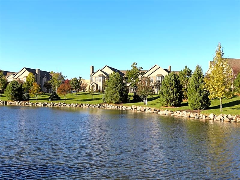 Our 17 acres of land features a private pond with sitting benches, a walking path and fishing.