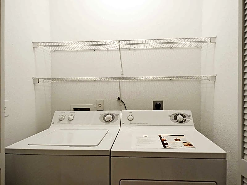 Full size washer / dryer in each unit