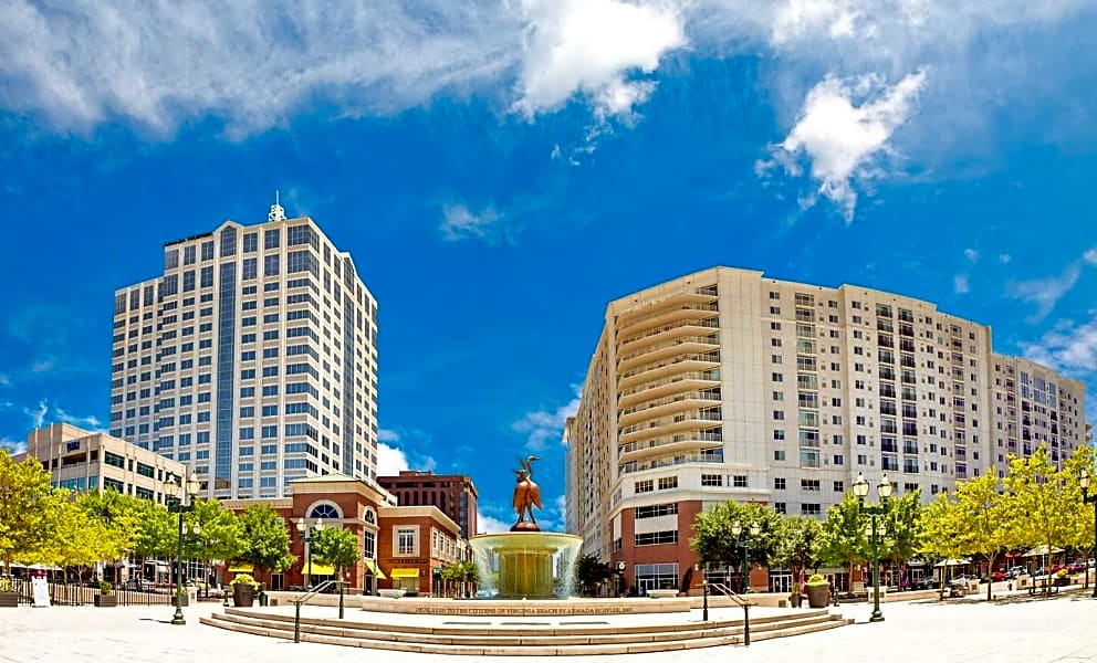 Located in the heart of VA Beach Town Center