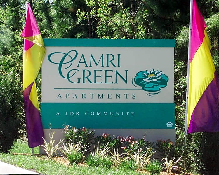 Camri Green Sign