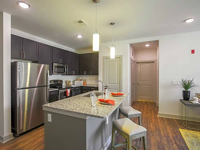 Luxury Kitchen With Stainless Steel Appliances