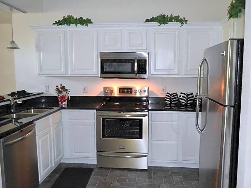 High-end stainless steel appliances