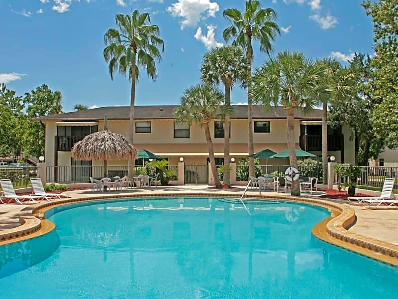 Relax Poolside - Marcell Gardens Apartments - South Daytona Beach, FL