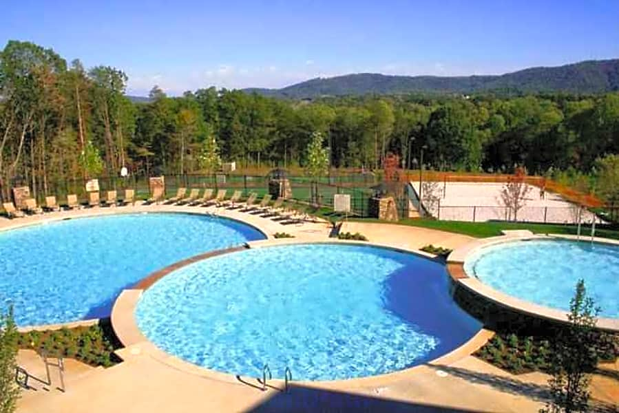 3 Tier Pool, Volleyball, basketball & tennis Courts