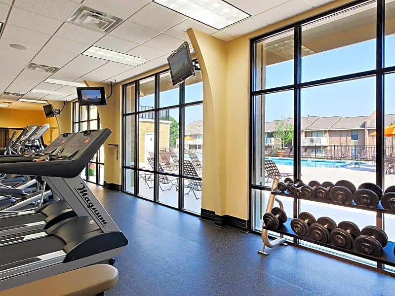 State-of-the-art 24-hour fitness center