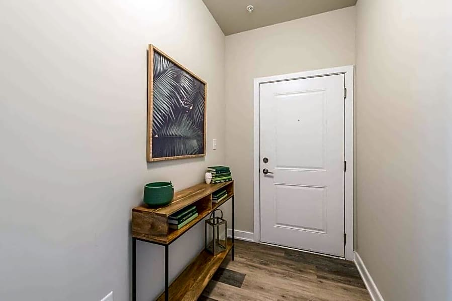 Wood Plank Flooring in entry