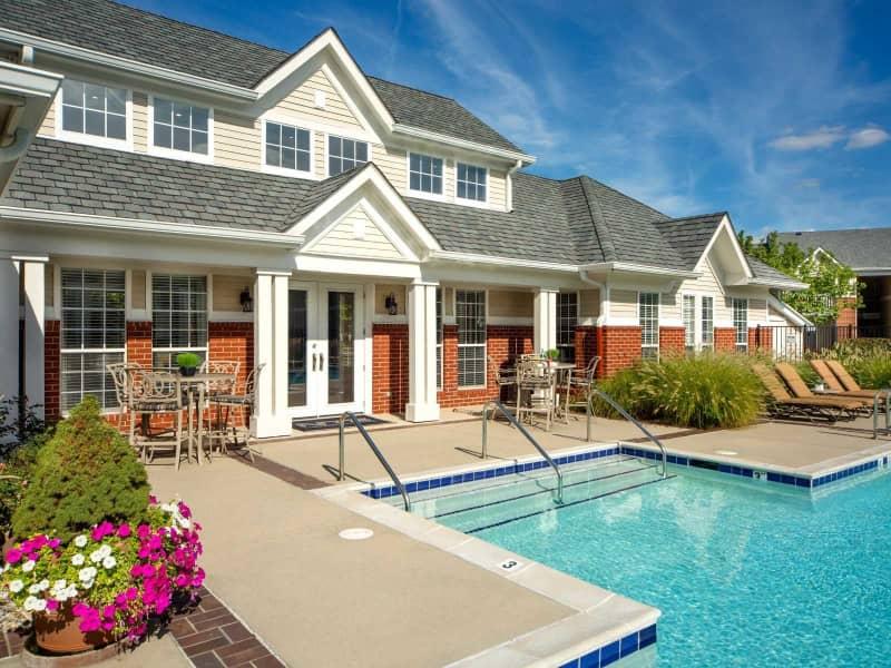 Luxury pool deck now open!