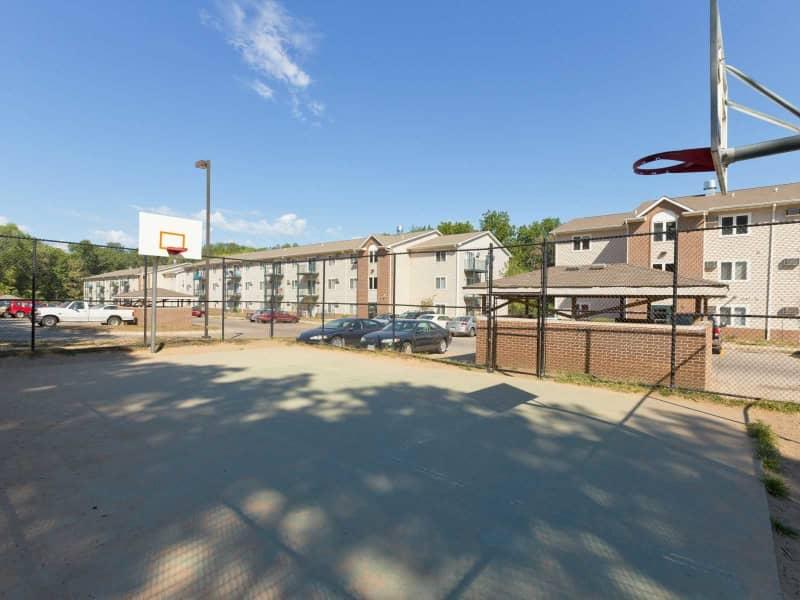Exterior-Basketball Court