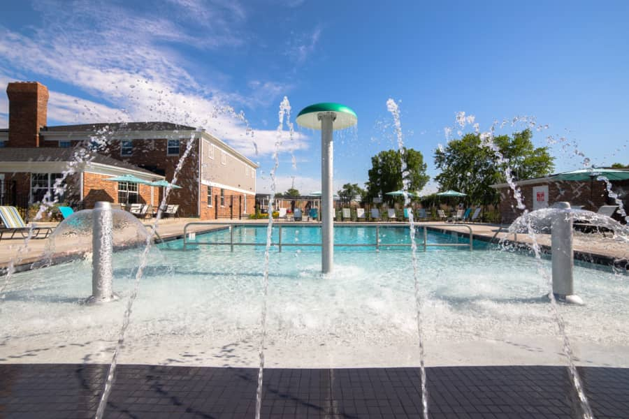 Splashpad and Swimming Pool at Gramercy