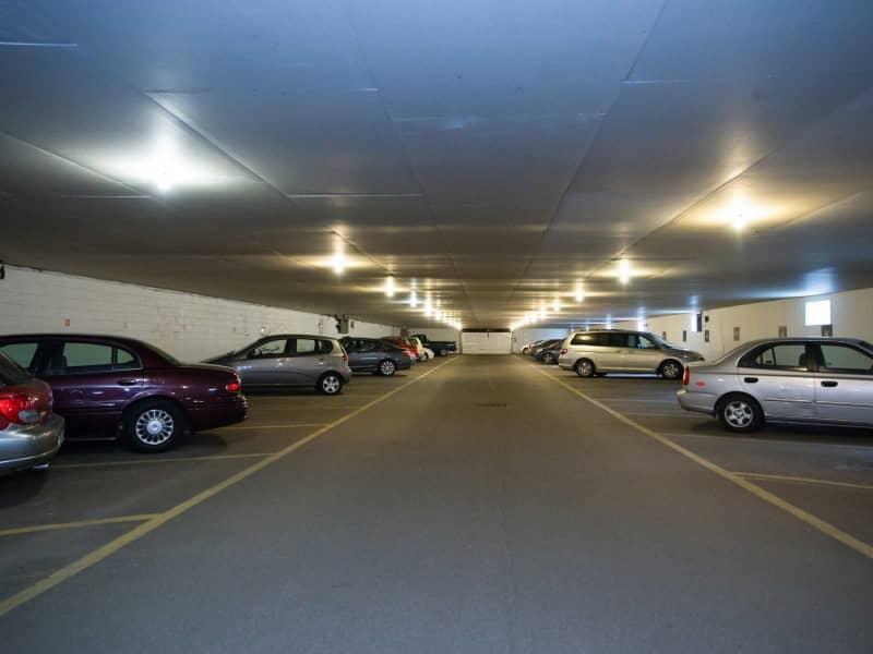 Indoor Heated Parking