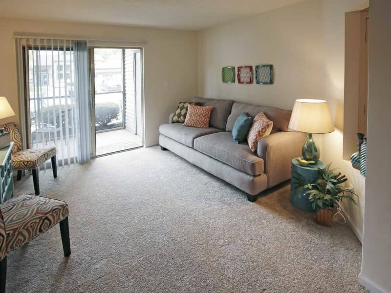 Living Room Overlooks Your Patio or Balcony
