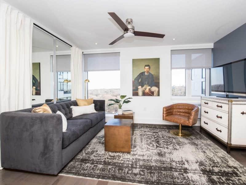 Jefferson 1 Bedroom Living Room