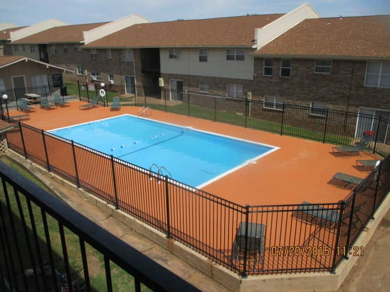 Saltwater pool!!