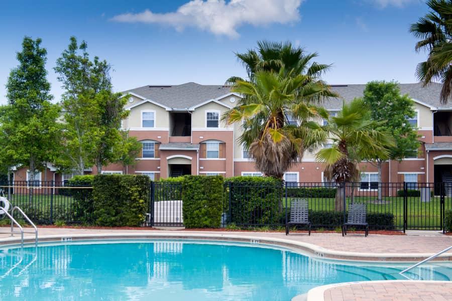 Thomas Chase Apartments Pool Area