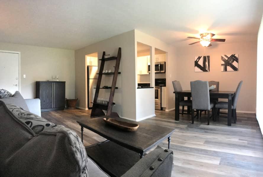 Model Living Area