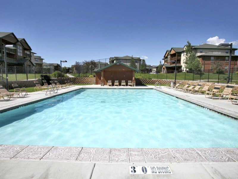Huge Sparkling Pool