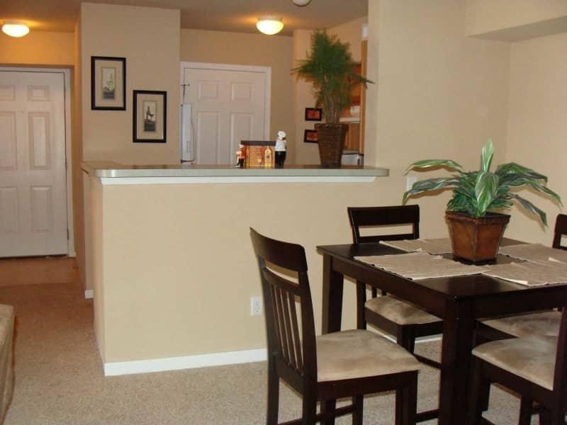 Dinning Area off Kitchen