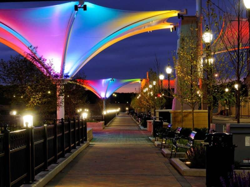 Beautiful Riverside Promenade