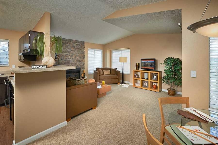 2 Bedroom Living Area