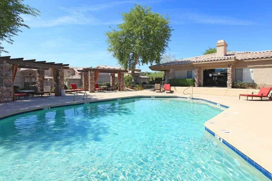 Beautiful Pool with Cabanas