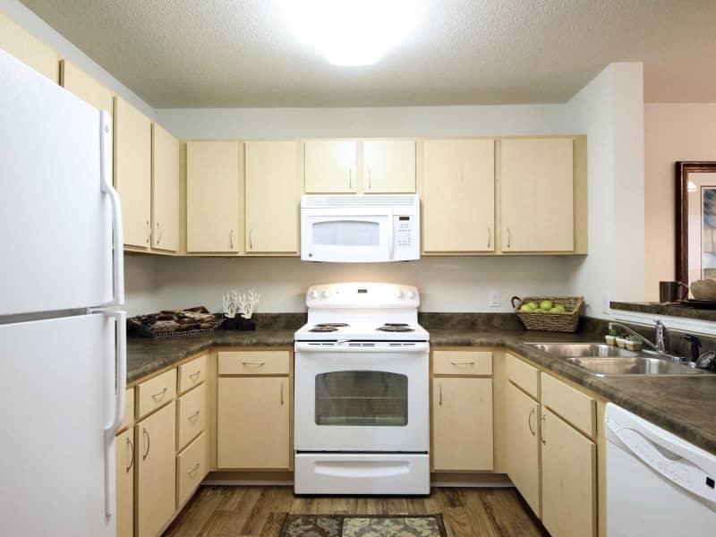 Gourmet Kitchen-2 bedroom floor plan