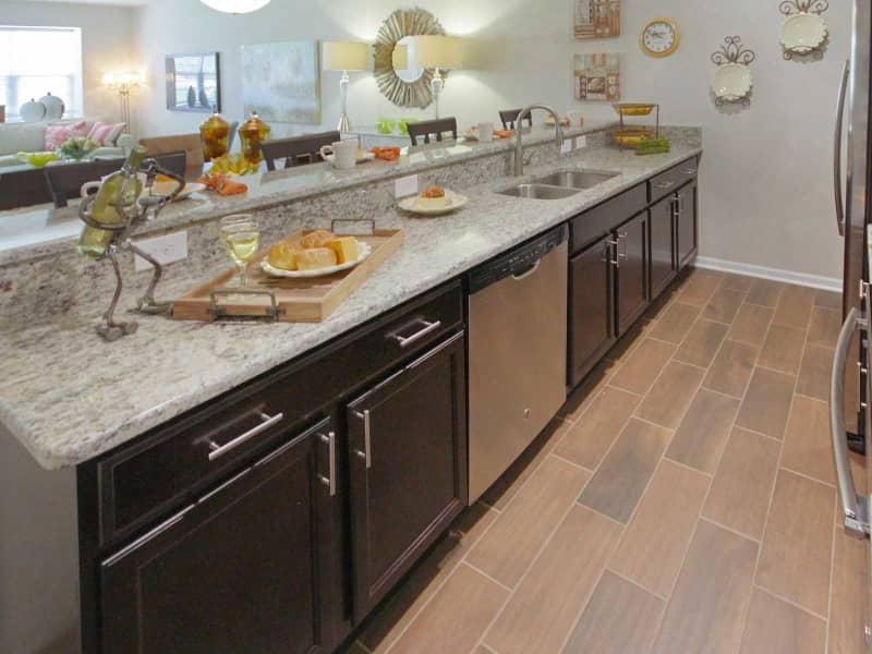 Custom Kitchen Granite Countertops