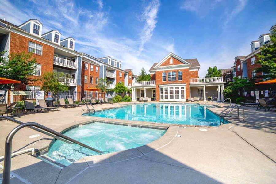 Pool and Hot Tub at Providence